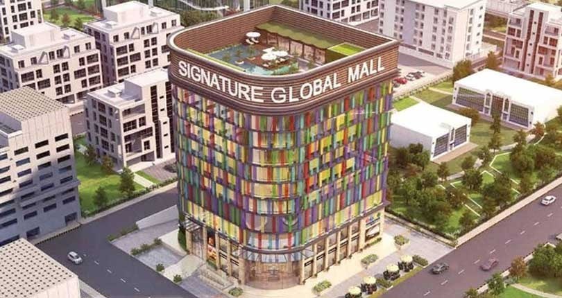 Signature Global Mall  site plan
