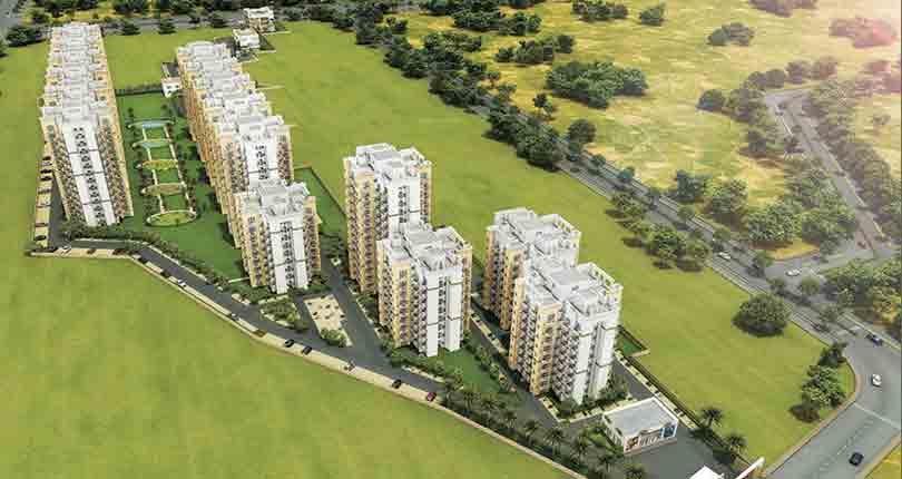 GLS Infra Arawali Homes floor plan