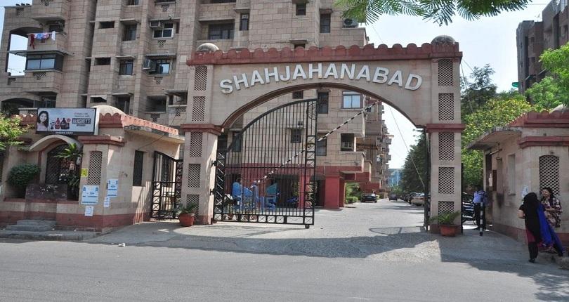 Purvanchal Shahjahanbad  site plan