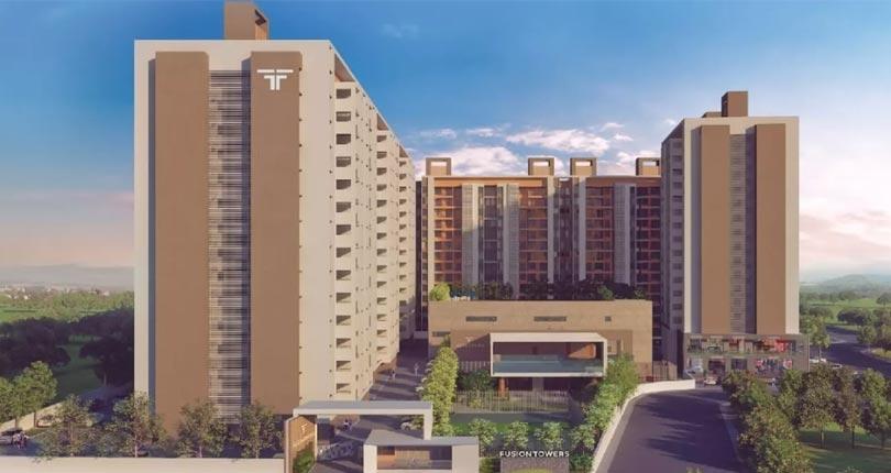 Rama Fusion Towers  site plan