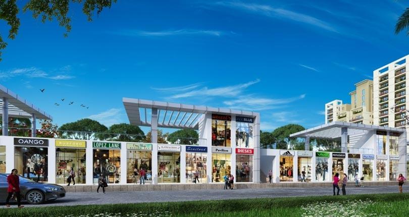 ROF Galleria 92  site plan