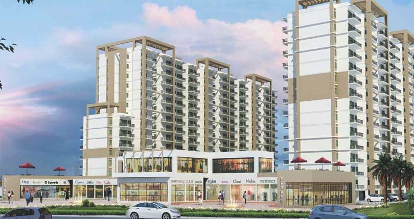 Shree Vardhman Green Court  site plan