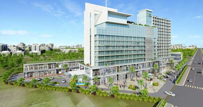 Baani Group City Center  site plan
