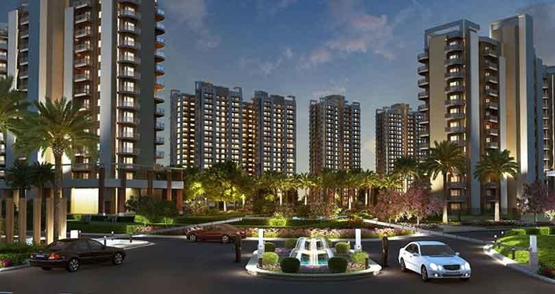 GLS Infra Arawali Homes  site plan