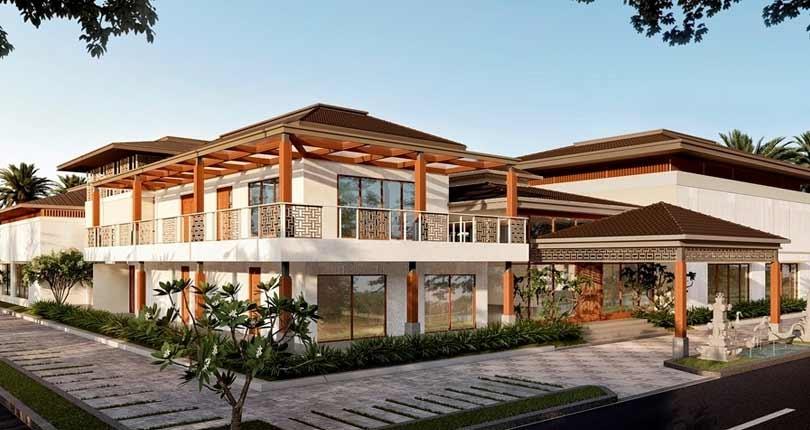 Shriram Rainforest  site plan