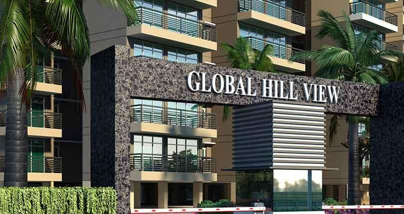 Breez Global Hill View  site plan