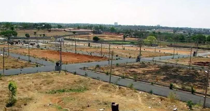 Manglam Dwarika Plots  site plan
