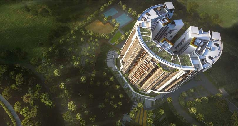 Godrej Reflections site plan