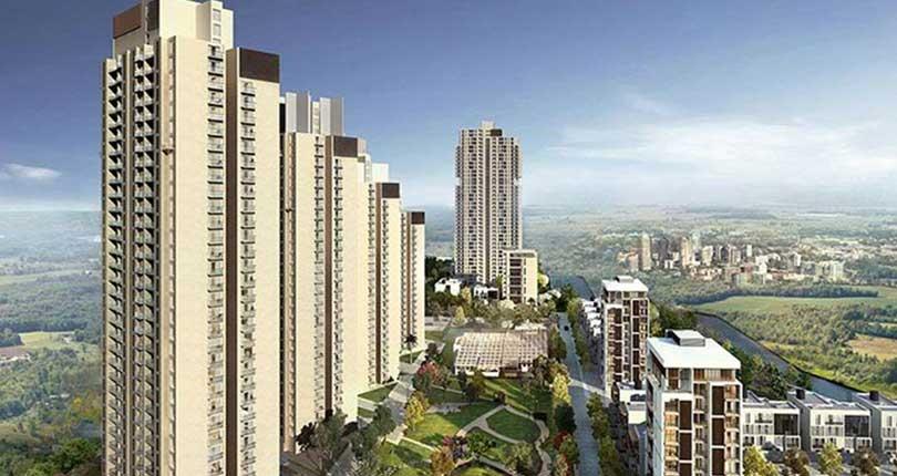 Tata Housing Primanti  site plan