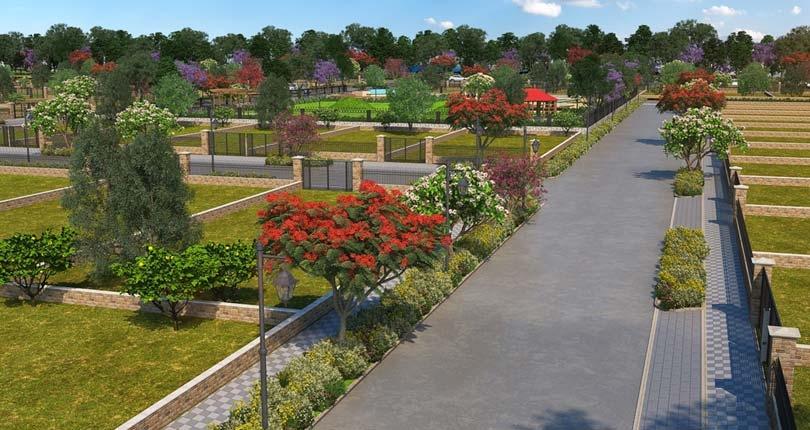 Central Park Mikasa Plots  site plan