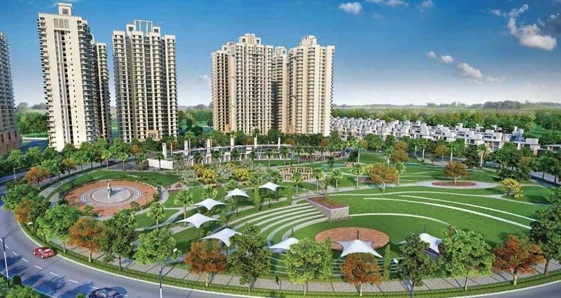 Gaur Yamuna City 16th Park View  site plan