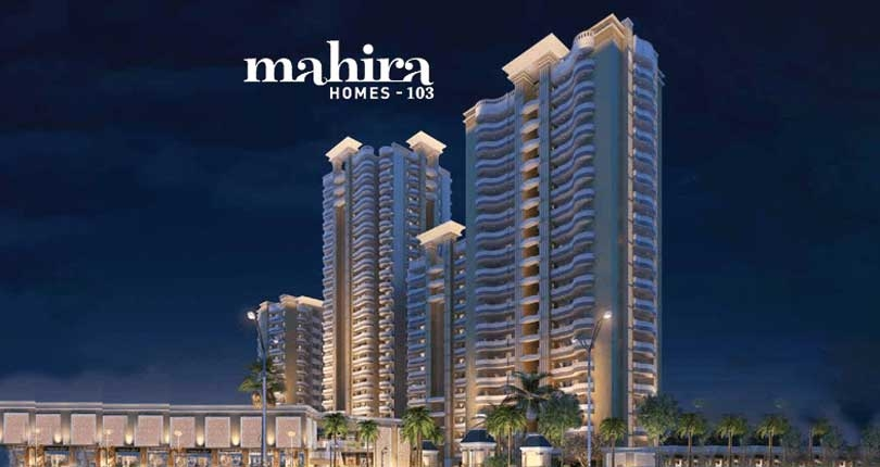 Mahira Homes 103  site plan