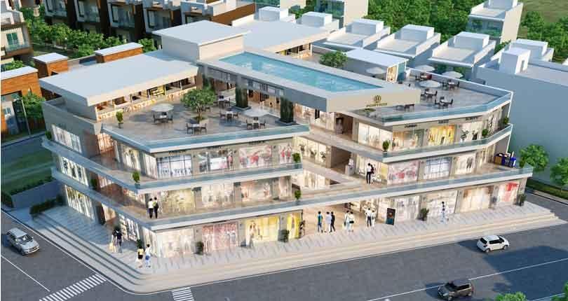 ROF Portico  site plan